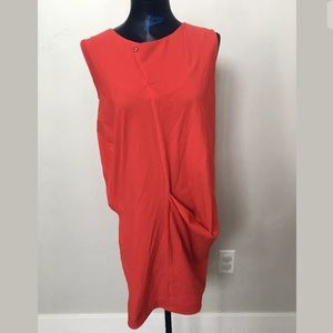 NWT Porto SF pencil draped dress